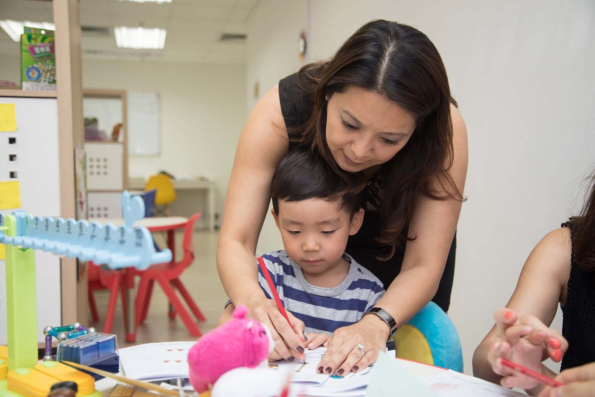S.A.M Hong Kong Teacher and Pupil